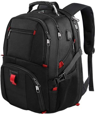 7949ea561 This is a great bag for traveling since it gives you so many options for  storing your items. You can easily organize everything you need in this pack .